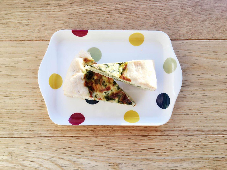 Pasqualina pie, an english interpretation