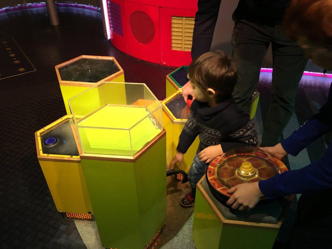 giochi interattivi al science museum di Londra