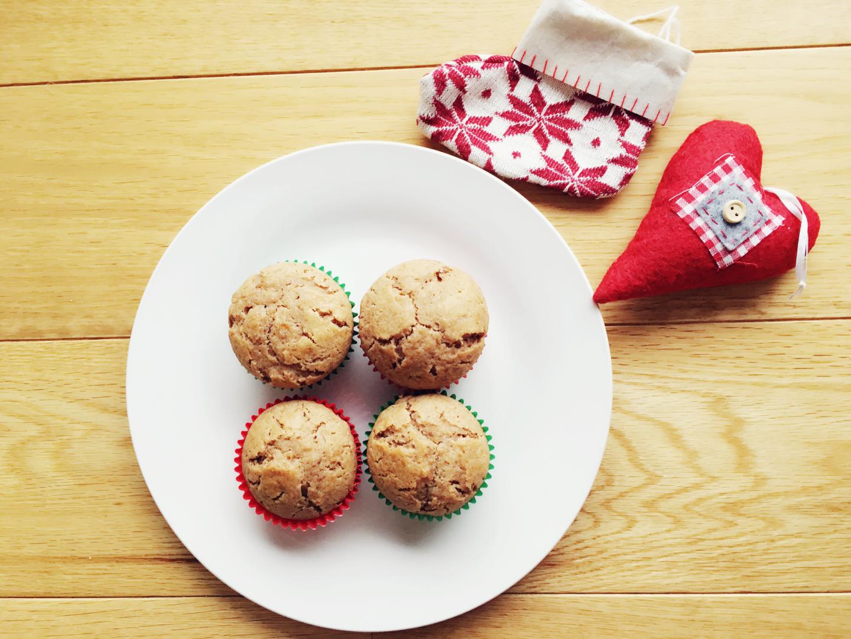 Light Persimmon muffins