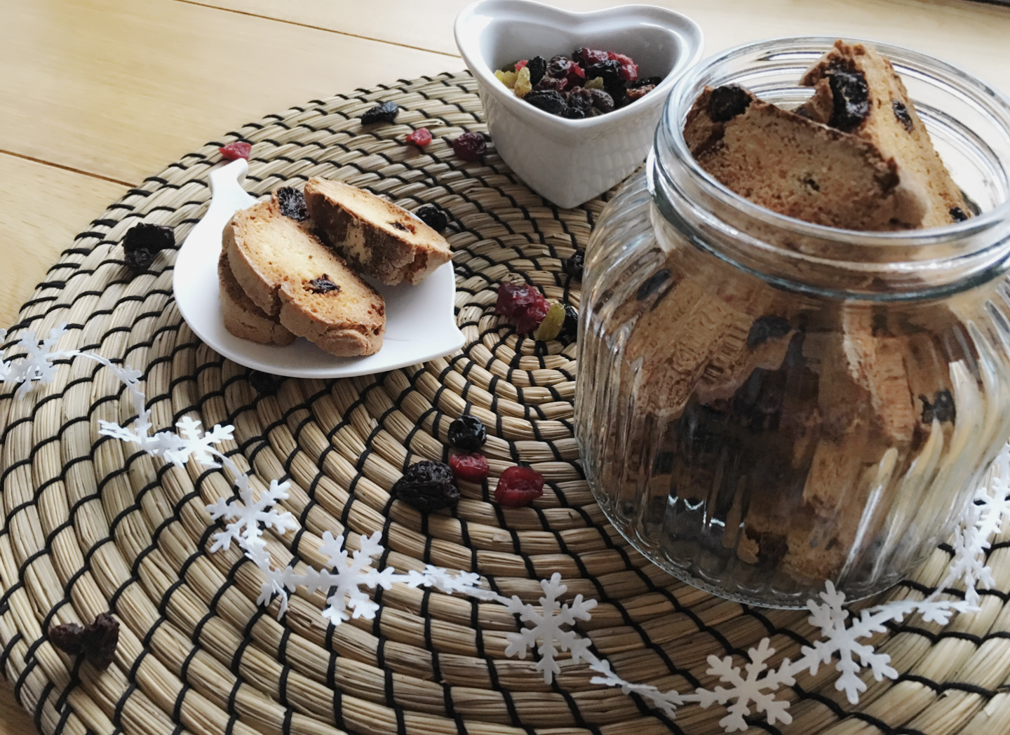 Cranberry & Almond Biscotti