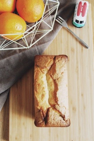 Orange breakfast bread dairy free recipe
