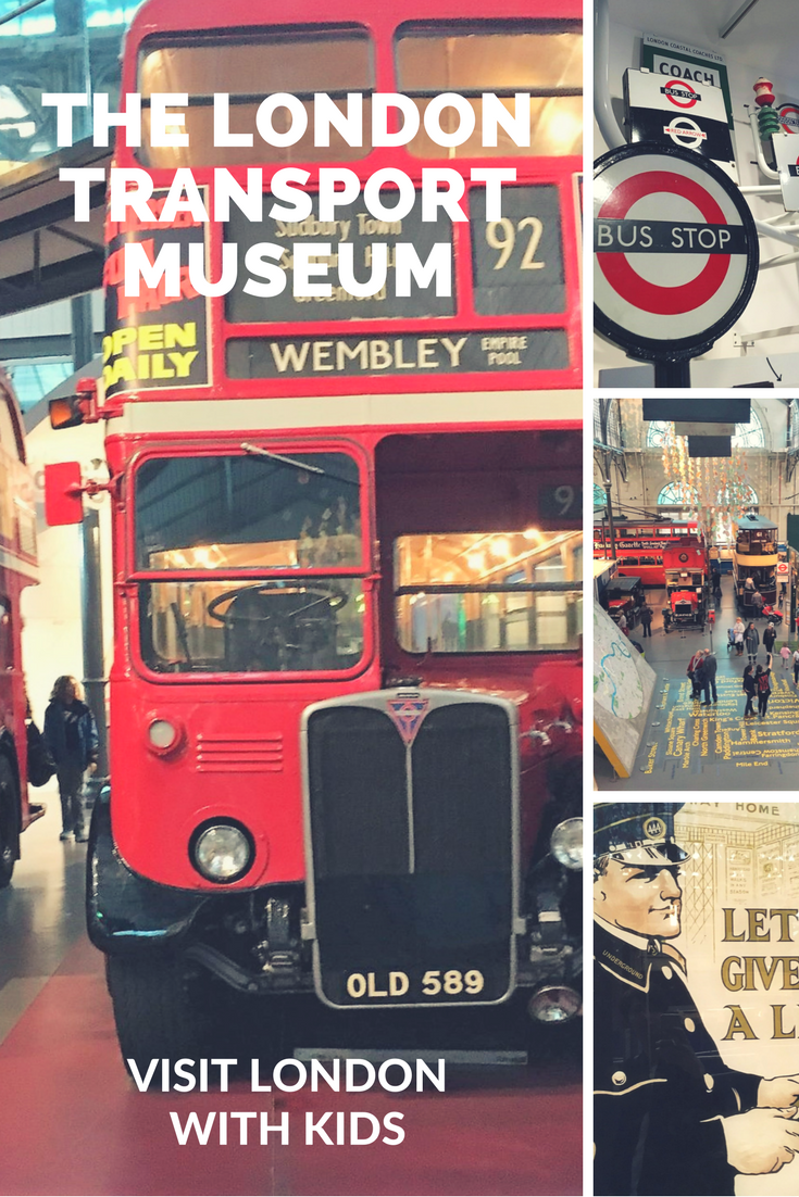 London with kids: Transport Museum reviewed by a local