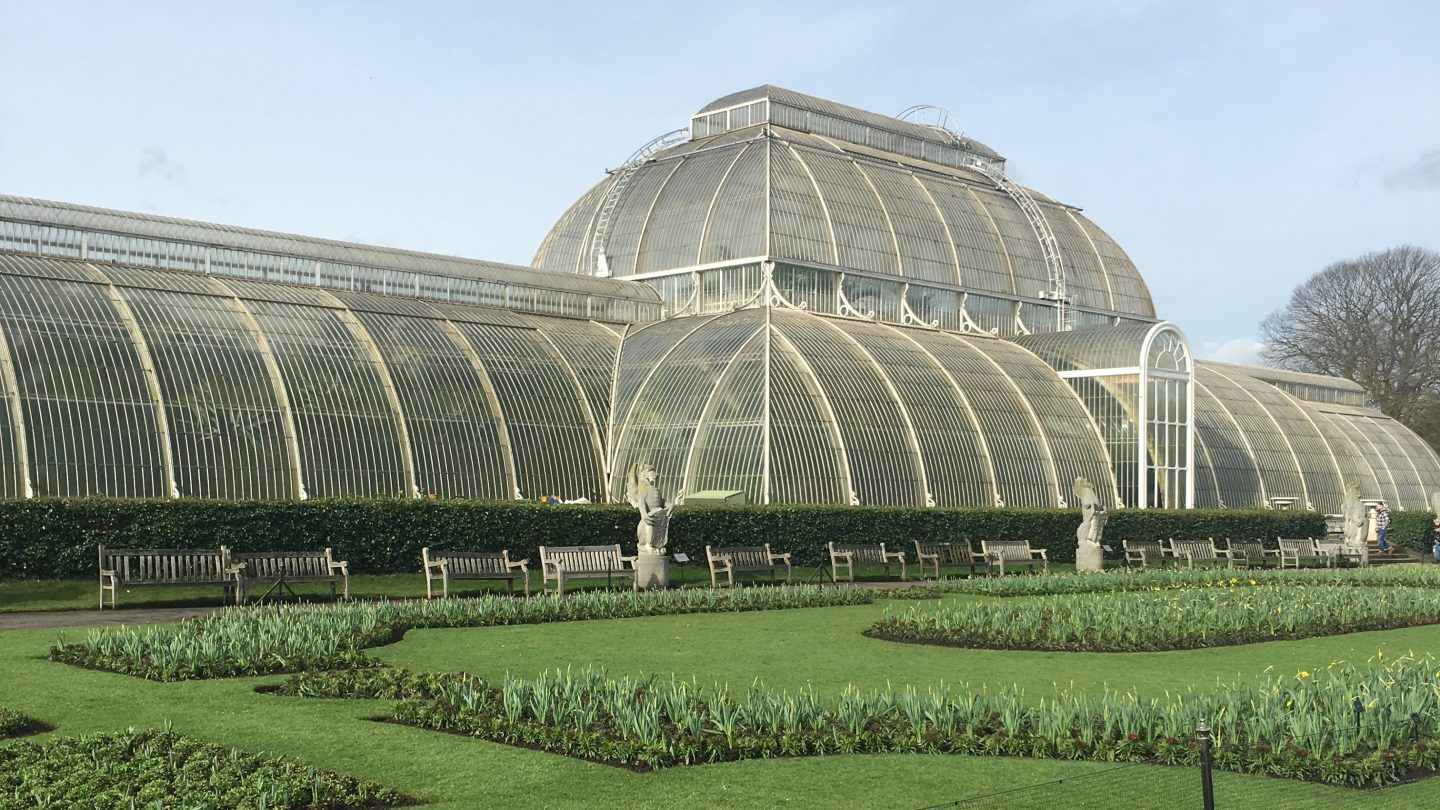 London' parks: Picnic at Kew Gardens