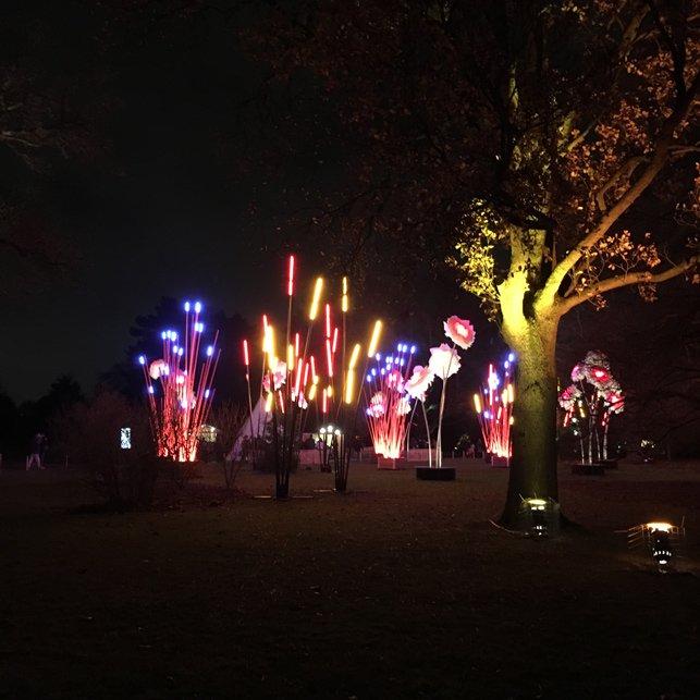 Natale ai Kew Gardens