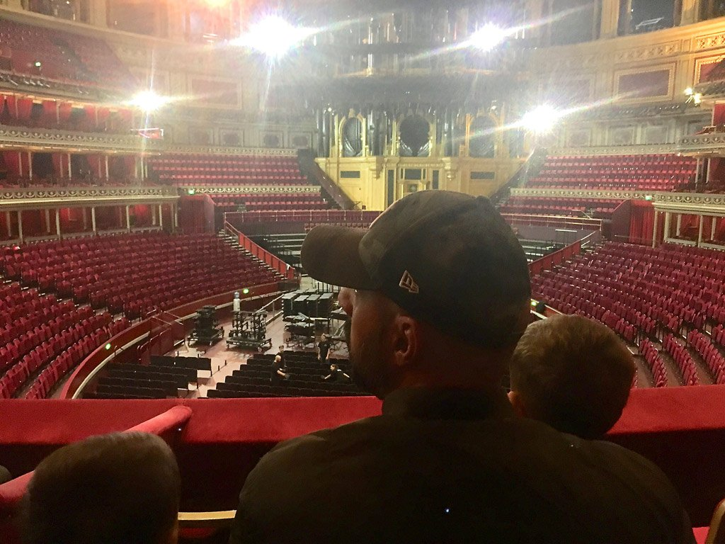 visit to the Royal Albert Hall with my children