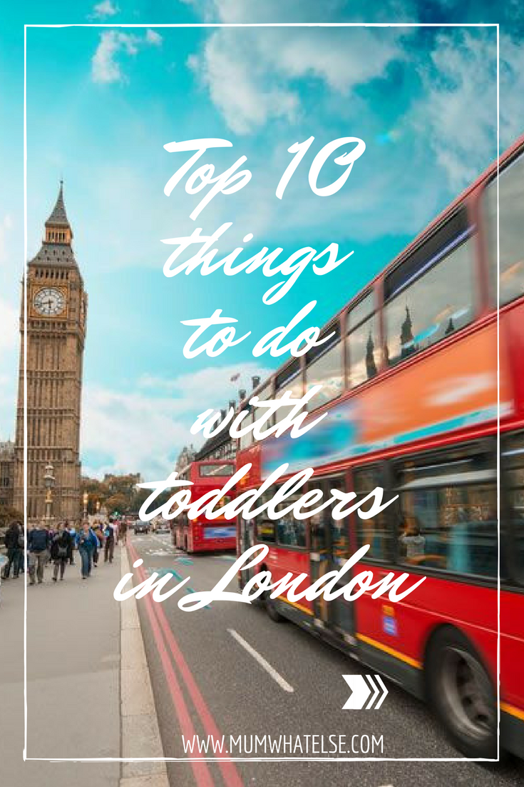 Top 10 things to do in London for under 5s
