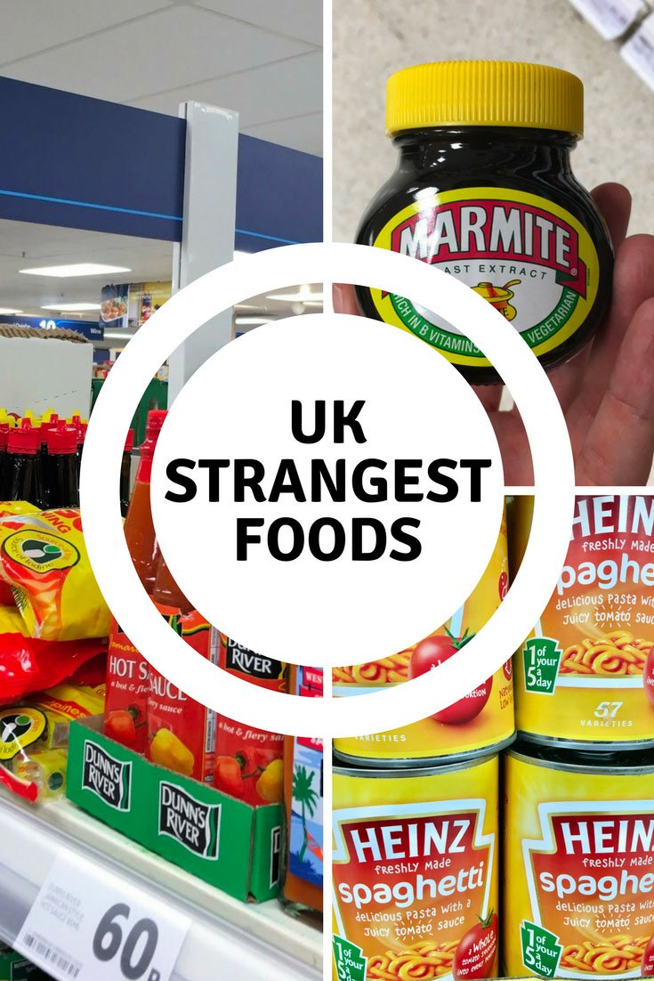 UK strangest foods I found at the grocery in London - Mum what else