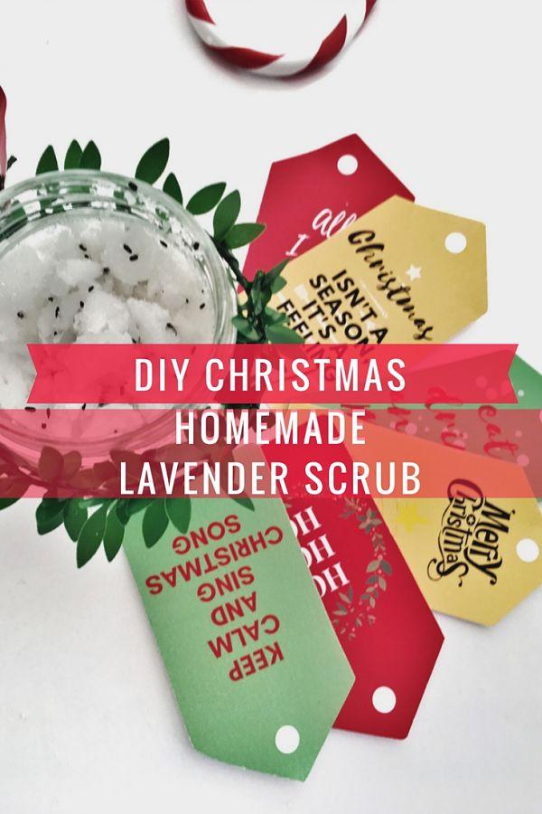 diy-christmas-gift-homemade-lavender-natural-body-scrub-recipe