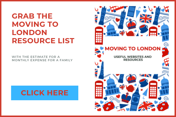 moving to london resource guide