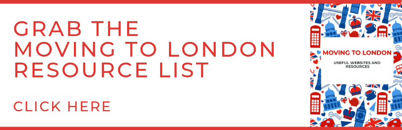 moving to london resource list