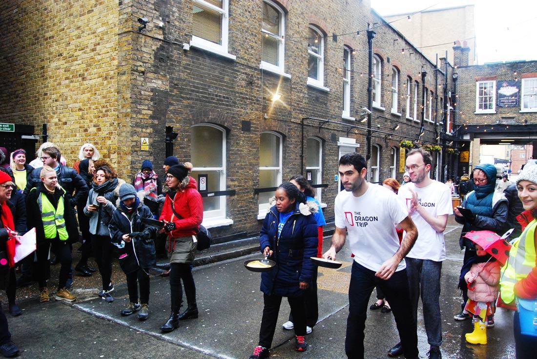 Carnival in London? Enjoy the English Pancake day