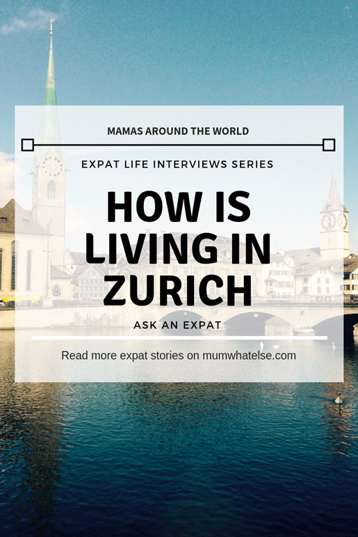 How is living in Zurich with a family? The story of Chiara