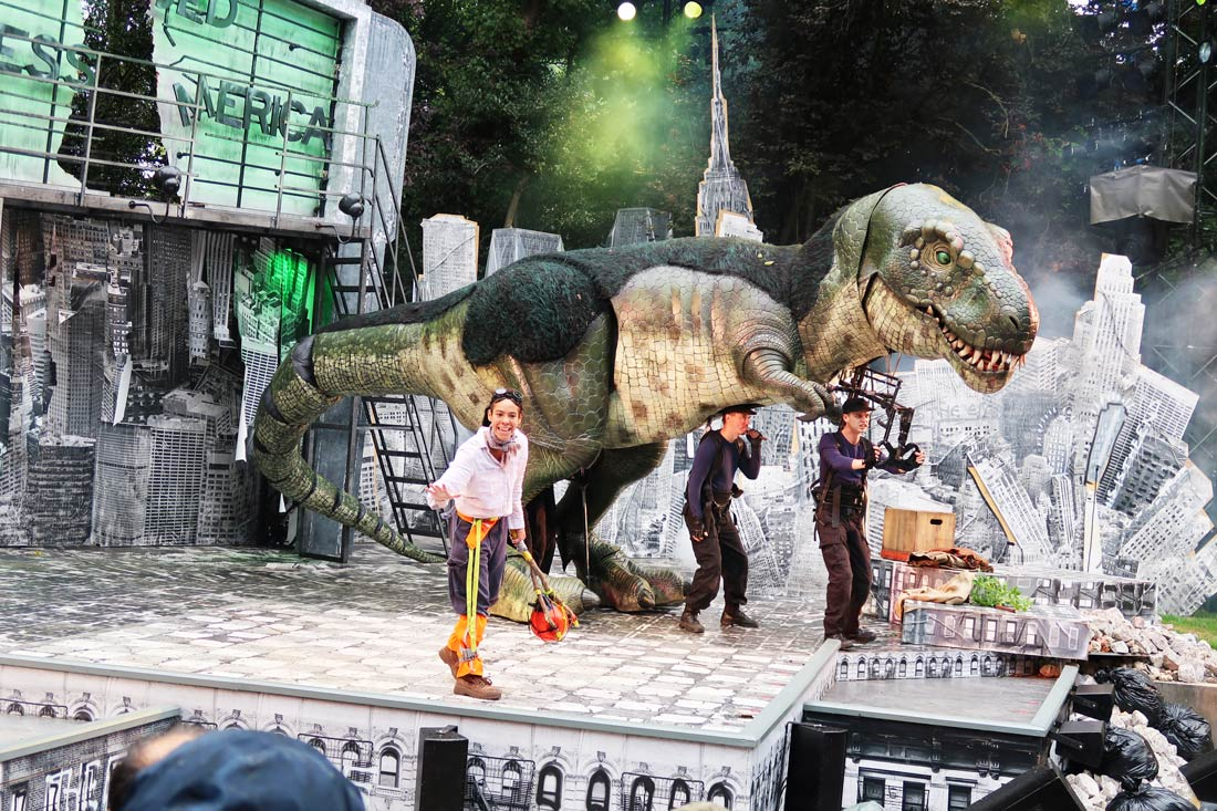 Dinosaur World live review – London with kids