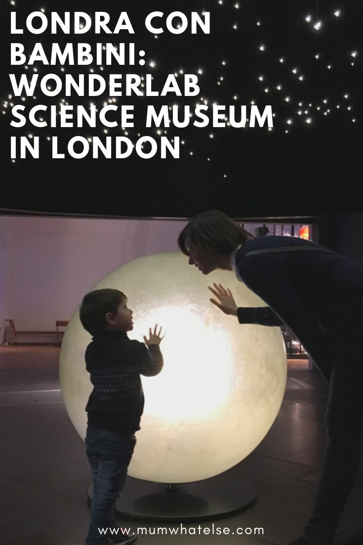wonderlab science museum londra
