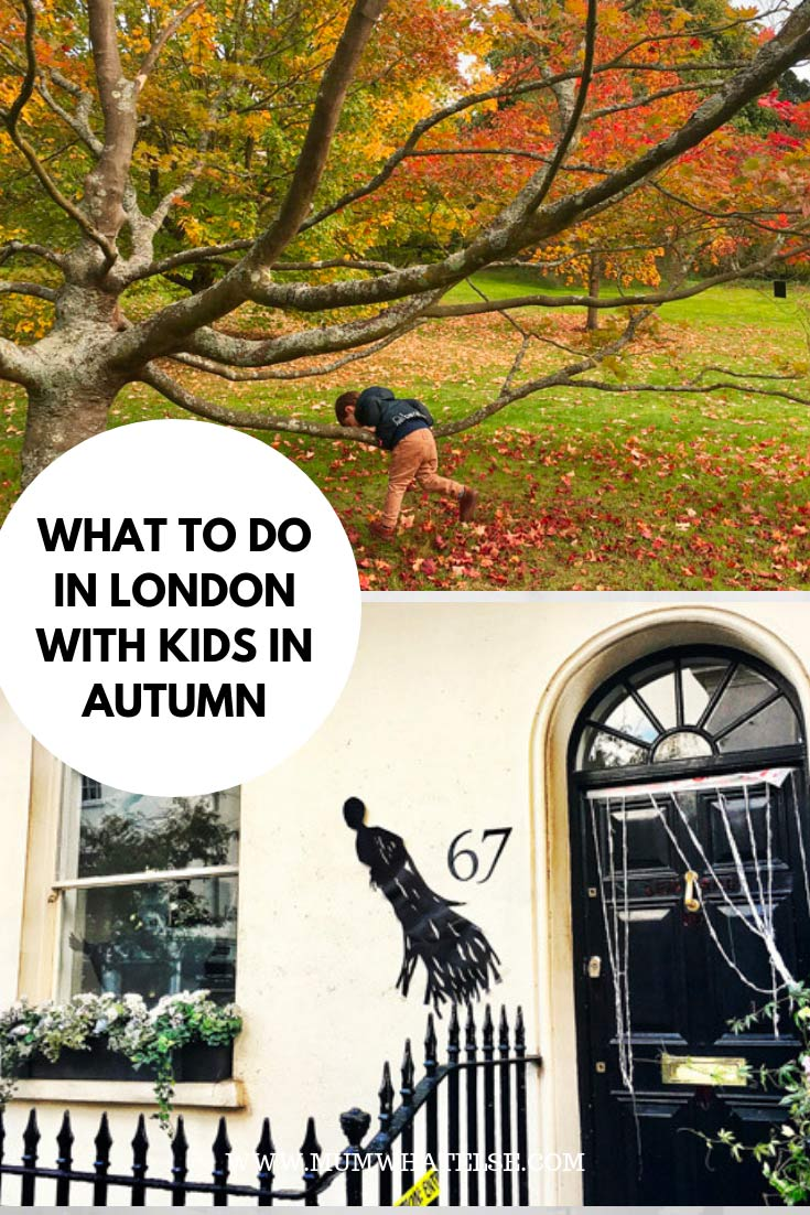 what to do in london with kids in autumn