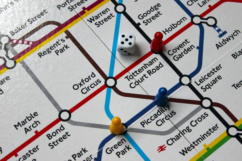mappa metropolitana