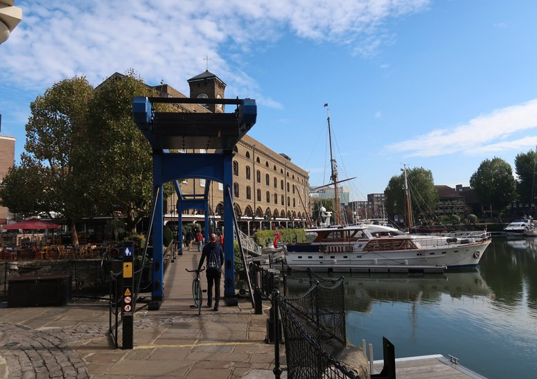 What to do near the Tower Bridge St Katharine Docks