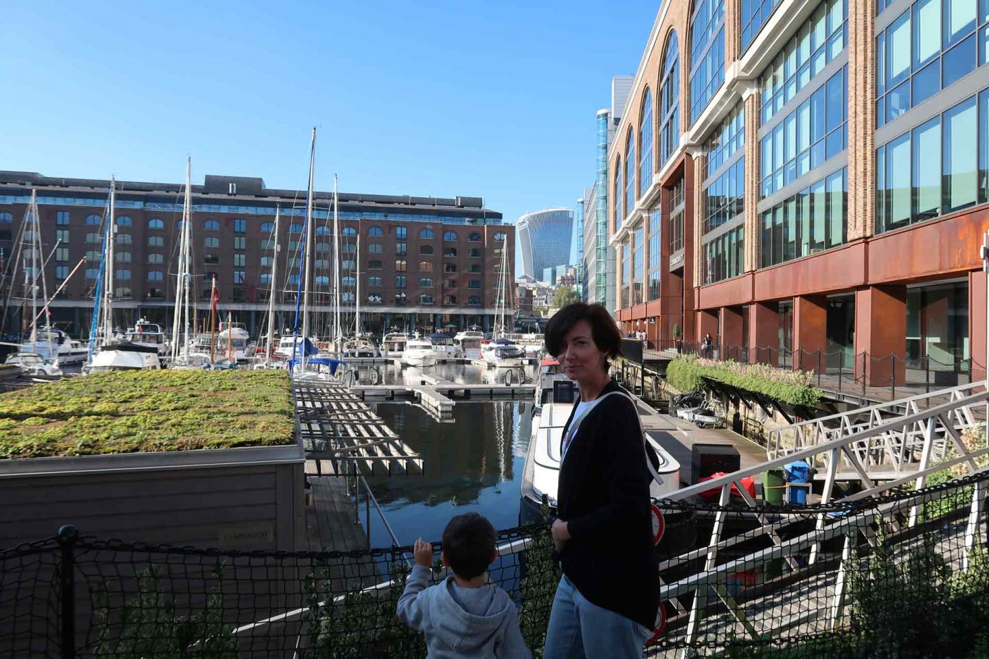 What to do near the Tower Bridge: St Katharine Docks