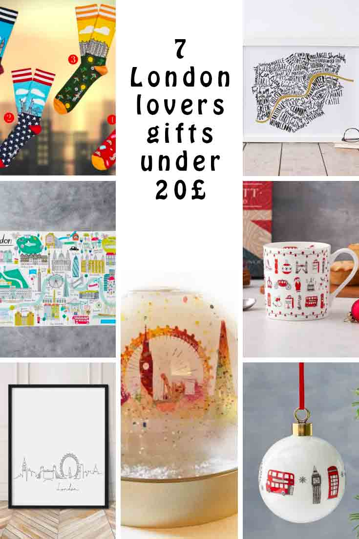 7 London lovers gifts under 20 pounds from Etsy