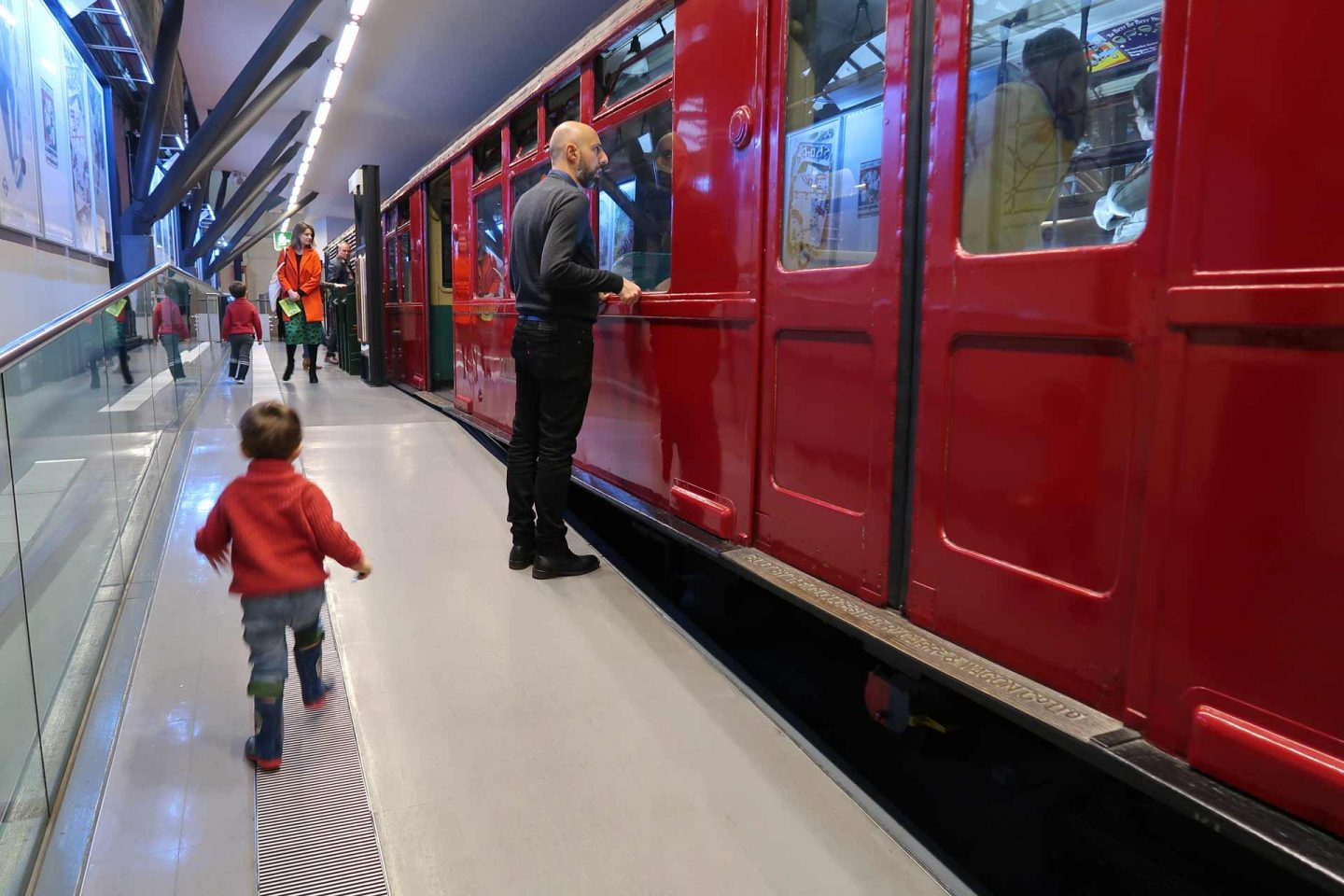 meet Santa London Transport museum