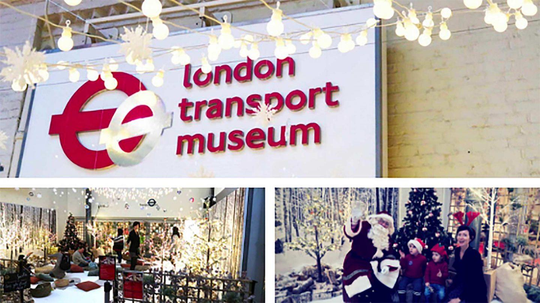 Natale a Londra con bambini al museo dei trasporti