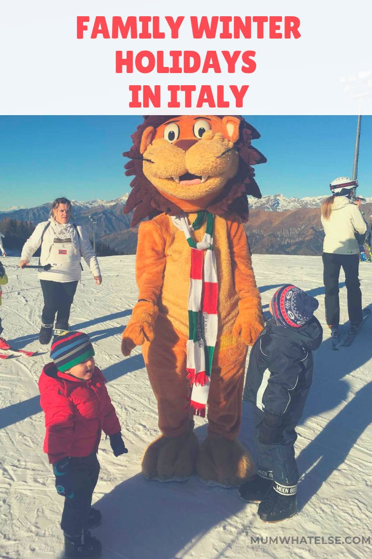winter family holiday in Italy