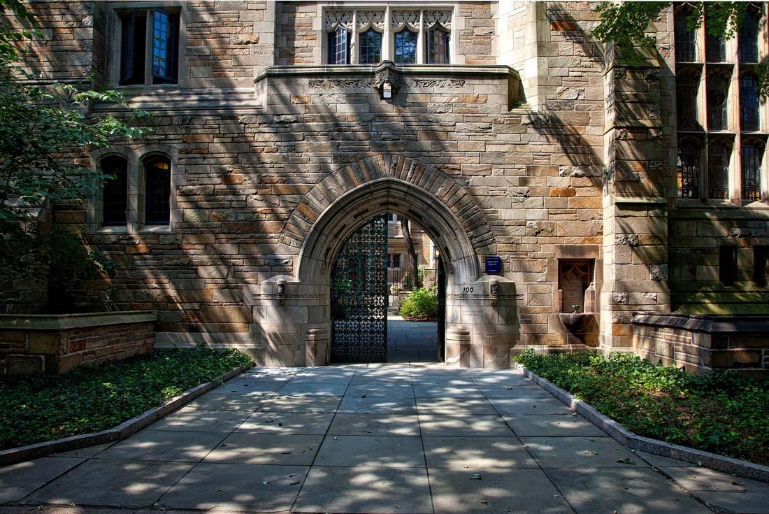 ingresso di un college