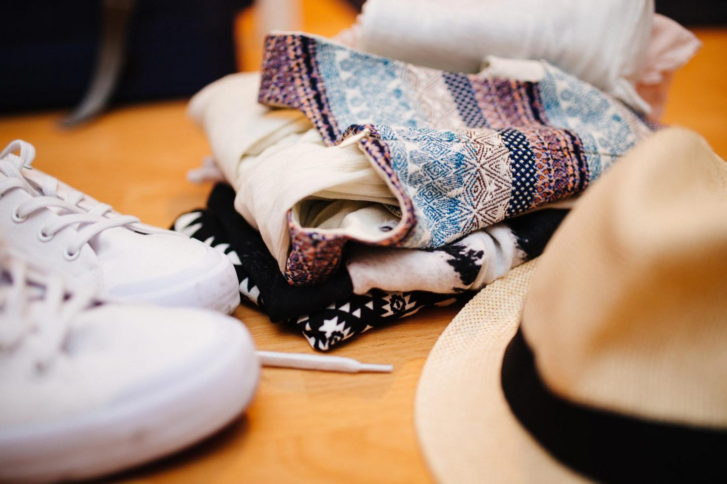 clothes to pack for a travel