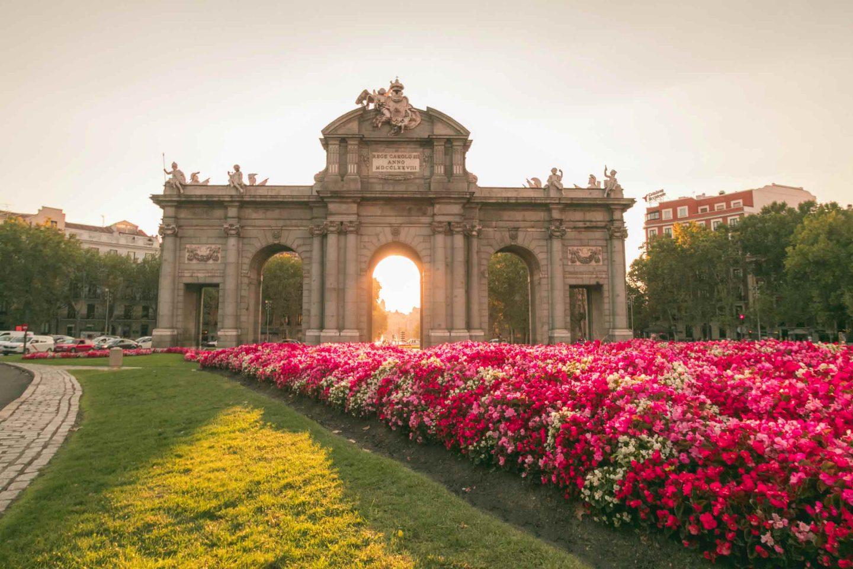 Puerta de Alcala, Madrid, Spagna