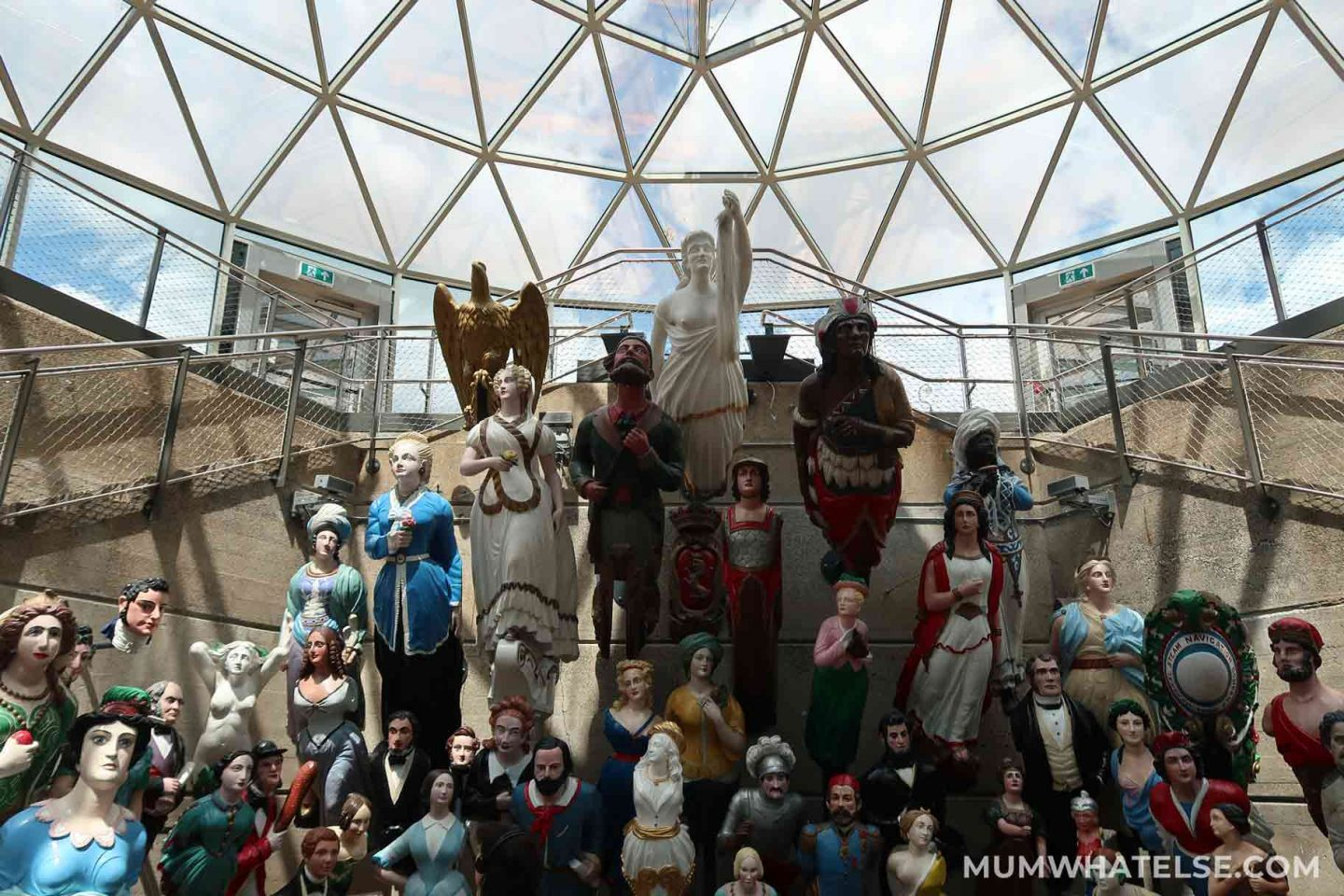 collection of Collection of figureheads
