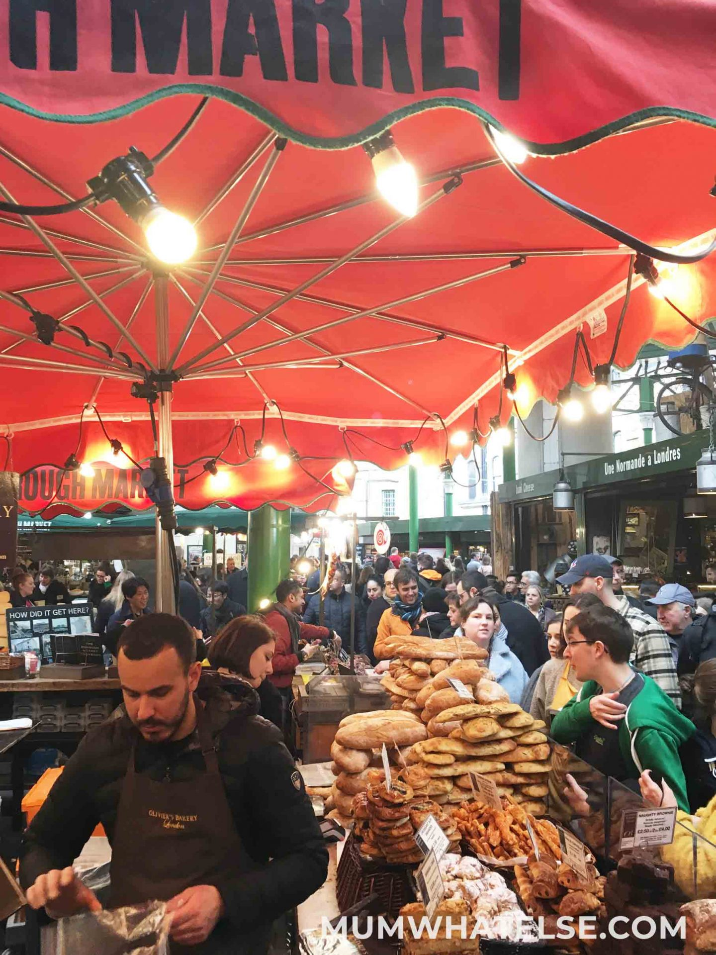 a barncarella of Borough Market
